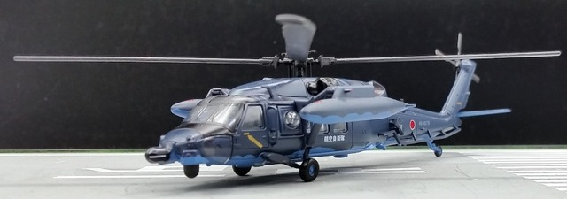 rare The official version 1: 100 SDF UH-60J rescue helicopter model Favorite airplane model