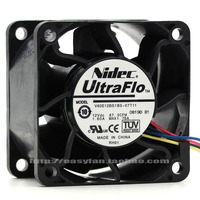 NEW NIDEC 6038 12V 1.60A V60E12BS1B5-07T11 FOR DELL C2100 cooling fan