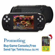 64Bit Handheld Game Console 4.1 Inch Mp5 Player Video Game Console Free Retro Games Support all Arcade Games/GBA/SEGA/GBC/64-Bit