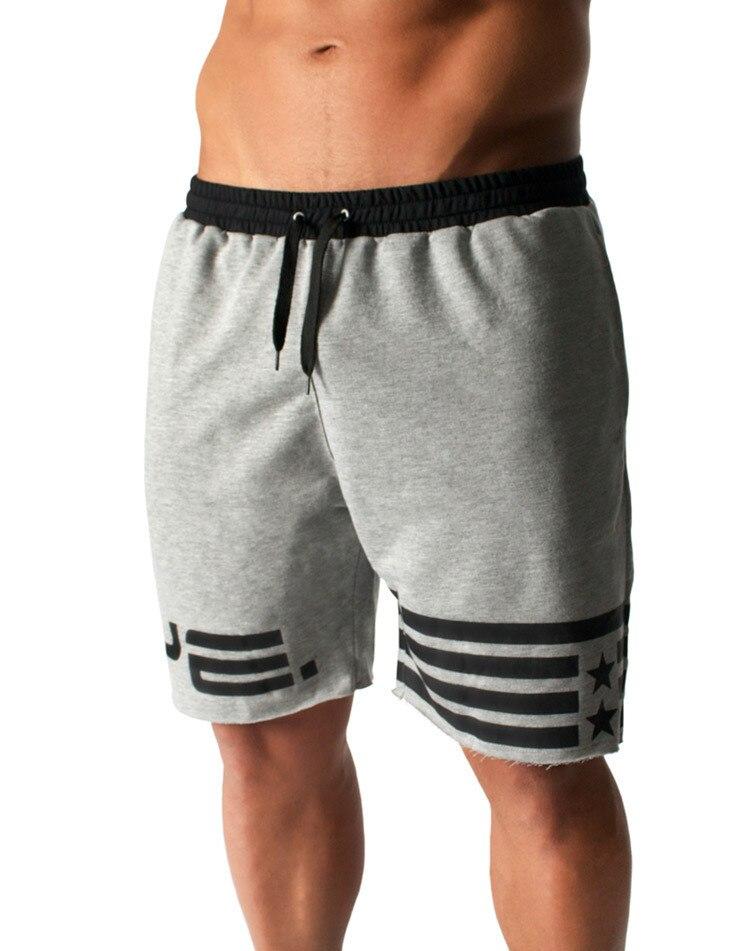 Shorts Mens 2018 Summer Fitness Pentagram Printing Shorts Hot Cargo Men Boardshorts Male Brand MenS Short Casual Fitness