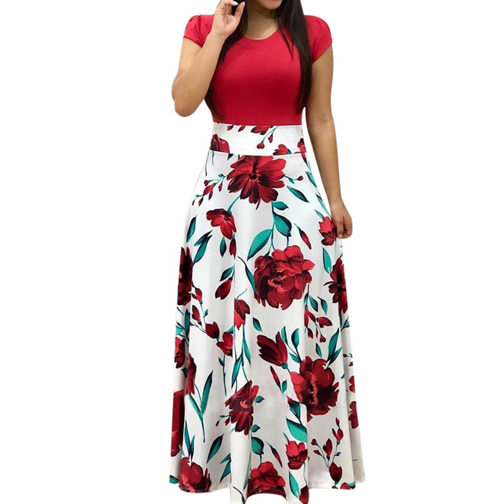 65cd9acd46961 Laamei 2019 Women Dress Boho Print Sexy Vintage Female Floral Pencil  Dresses Evening Party Dress Bodycon Package Hip Vestidos