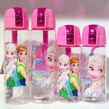 1 шт. 350 мл-470 мл Диснея Принцесса бутылка для детей Замороженные Эльза питьевой чашки для мальчиков и девочек Микки Маус летний чайник чашка