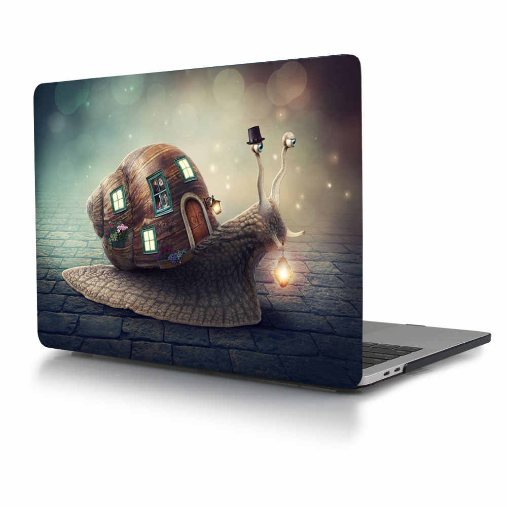 For MacBook Pro 13 15 Case 2016 & 2017 & 2018, Hard Shell Cover for Apple  MacBook Pro Retina 15 4 inch A1707 Air 11 12 13 Sleeve
