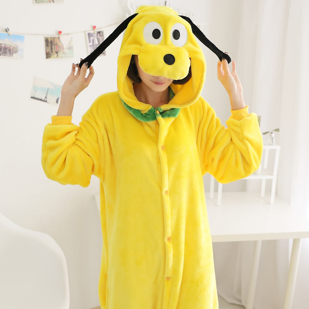 Anime Pijama Cartoon Unisex Adult Goofy Dog Pajamas Cosplay Costume Animal Onesie Sleepwear Animal pajamas
