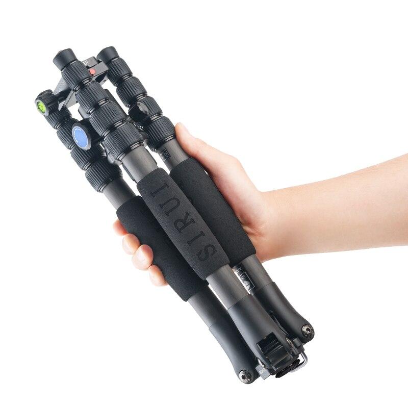 SIRUI A1205 carbon fiber SLR camera tripod Flexible Monopod For Camera Y11 Head portable tripod phone