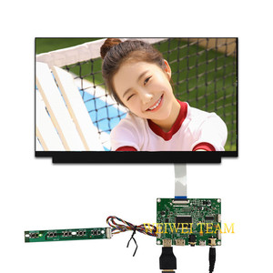13.3 inch 1920X1080 full HD IPS lcd-scherm module tft HDMI display edp controller board 30 pin voor DIY project Laptop panel(China)