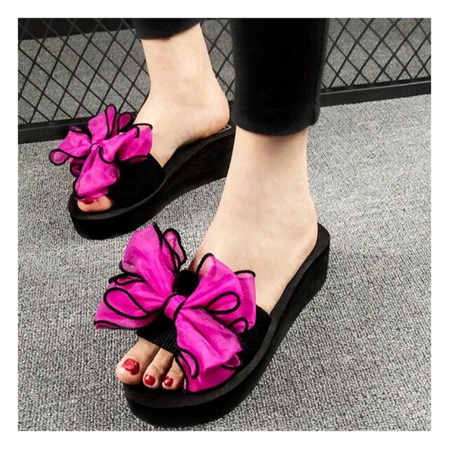 New Pattern Summer Women S Shoes Non Slip A Word Sandals Fashion External Wear Beach