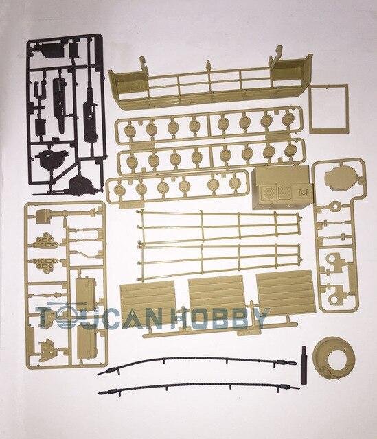 henglong 1/16 abrams m1a2 rc tank decoration plastic accessories parts bag  3918