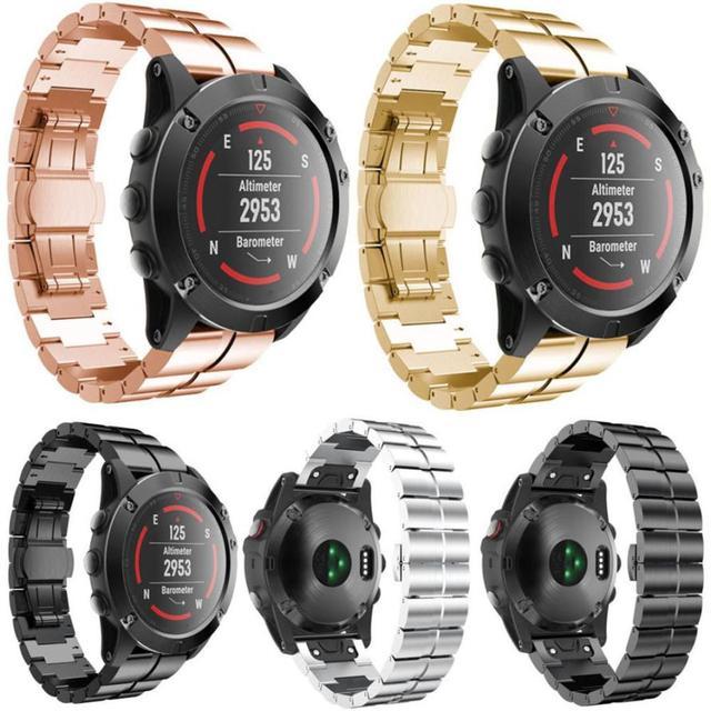 Angebot Edelstahl Armband Schnellverschluss Fur Garmin Fenix 3 Hr