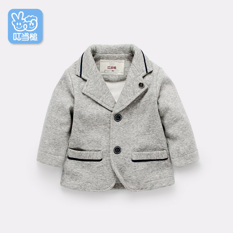Dinstry suit for male baby in the spring and Autumn  British Style overcoat dinstry spring