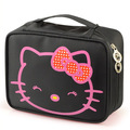 Kitty Large-capacity Cosmetic Bag Korea Hand-held Waterproof High Quality Travel Toiletry Professional Makeup Case