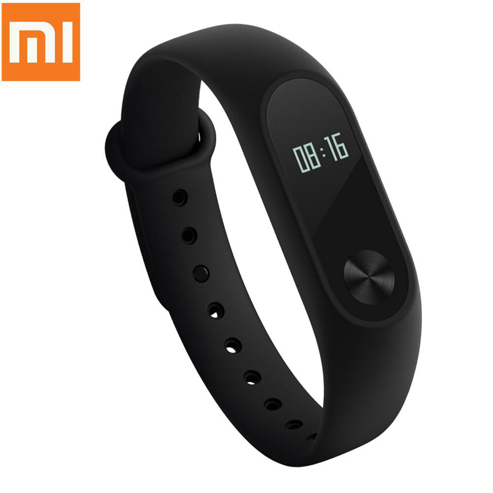 Original Xiaomi Mi Band 2 mi band 2016 Smartband OLED display heart rate monitor Bluetooth 4.0 fitness tracker for Android ios
