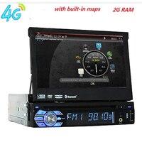 7 Din Android 8,01 CarDVD плеер gps навигация Универсальный In dash Съемная передняя панель Авто Радио Аудио стерео с BTFunction