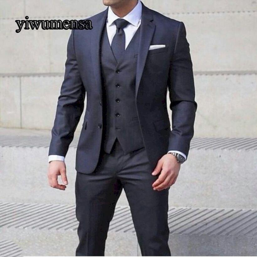 buy y514 costume homme mariage 2018 traje. Black Bedroom Furniture Sets. Home Design Ideas