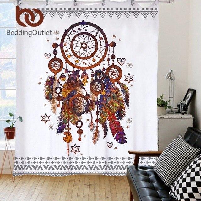 BeddingOutlet Dreamcatcher Curtains For Living Room Bedroom Grommet Top Translucidus Curtain Window Treatment Drapes Home Decor