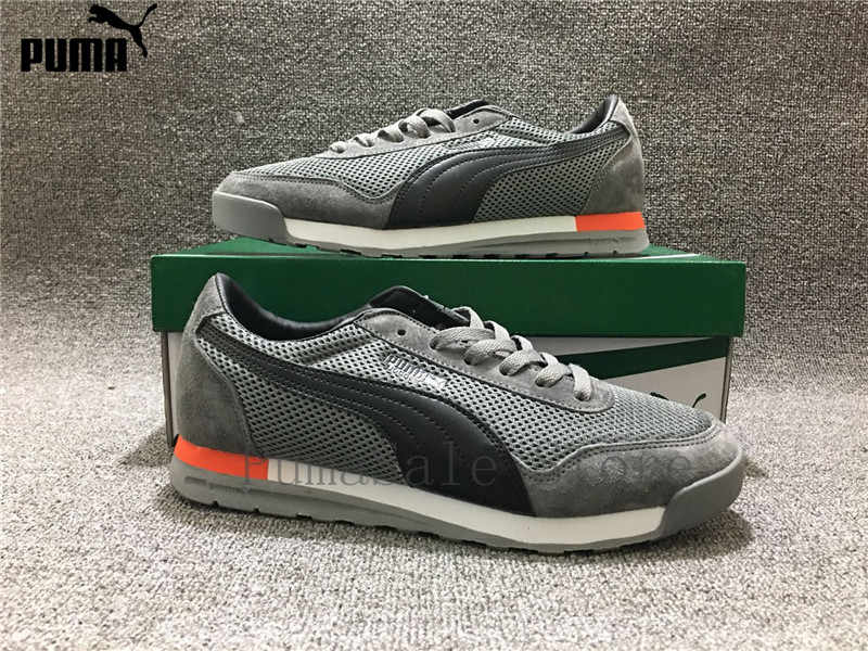 2914cb7ada45 ... PUMA Men s Jogger OG Sneaker Whirlwind Classic Badminton Shoes Leather  Lightweight Mesh Comfort Breathable Shoes Size ...