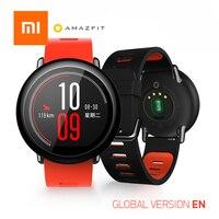 Оригинальный Xiao mi Hua mi часы AMAZFIT английская версия темп gps бег Bluetooth 4,0 спортивные умные часы mi пульсометр CE