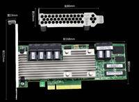 RaidStorage Avago LSI MegaRAID SAS 9361 24i 05 50022 00 4GB Cache Memory SFF8643 PCI E3.0 12Gb/s Controller Card