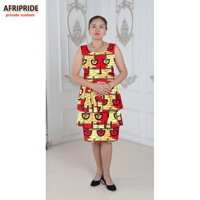 Nouveau robes africaines pour les femmes style de gâteau femmes - Vêtements nationaux - Photo 5