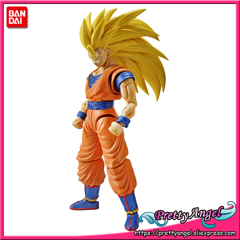 Figurine originale des Nations Bandai Tamashii-taille Standard assemblée Dragon Ball Z jouet figurine-Super Saiyan 3 fils Goku modèle en plastique