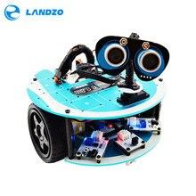 LANDZO Altar 1 s Programable Inteligente Robot Car Kit con Arduino Proyectos