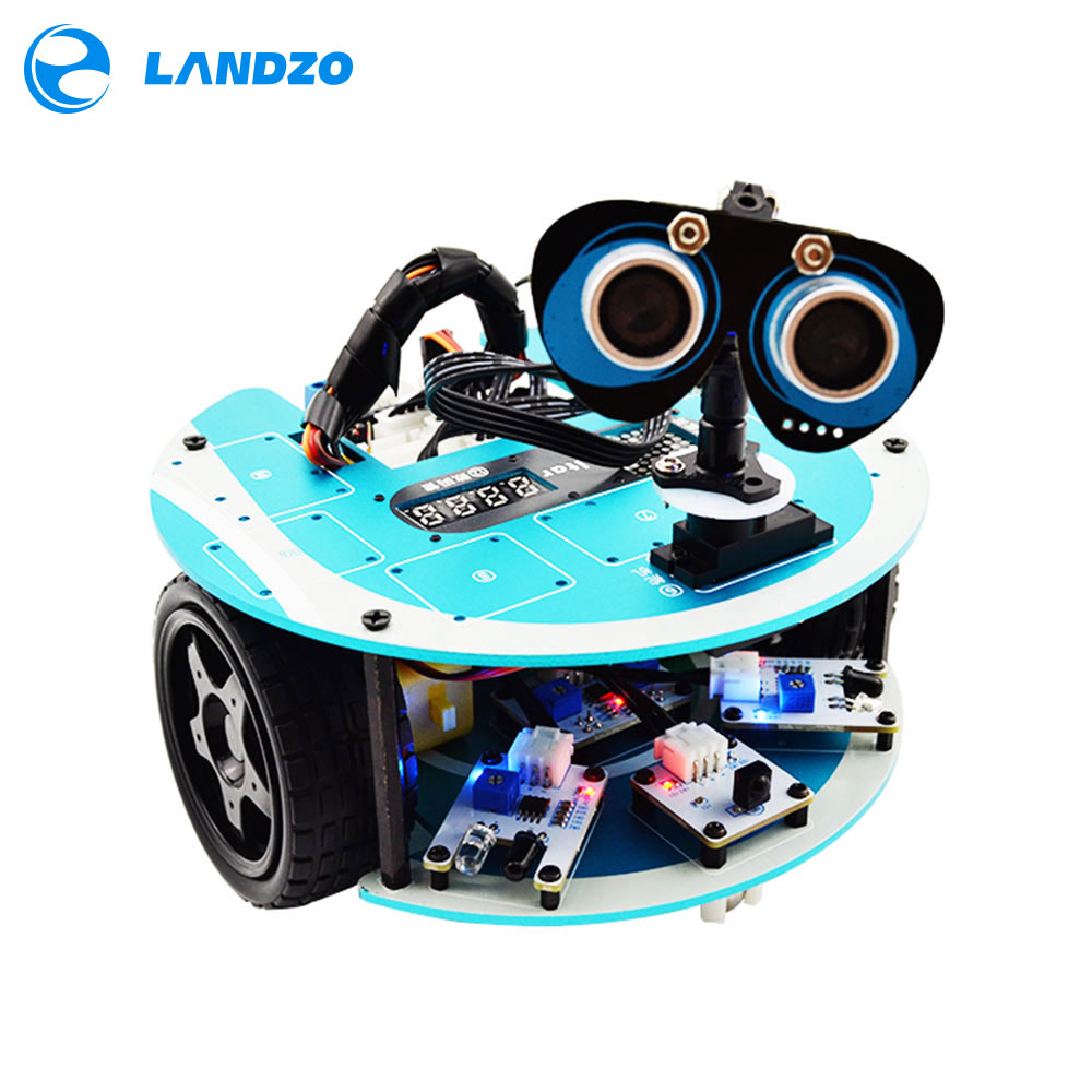 LANDZO Altar s Programmable Smart Robot Car Kit with Arduino Projects