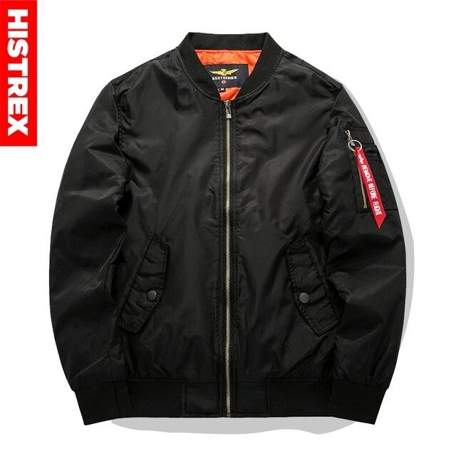 2018 Men Fashions Bomber Jacket Motorcycle Black Army Green Militare Fleece Jackets Pilot casual Coat 4XL 5XL 6XL 7XL 8XL