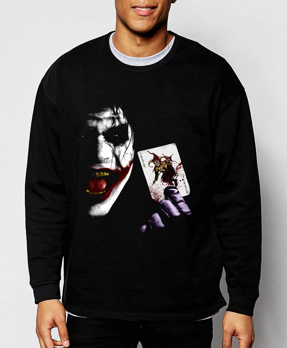 HTB15OdSPVXXXXbgaXXXq6xXFXXXg - Joker Heath Ledger Batman 2 The Dark Knight Rises 2019 new spring winter fashion men sweatshirt hoodie cool streetwear tracksuit