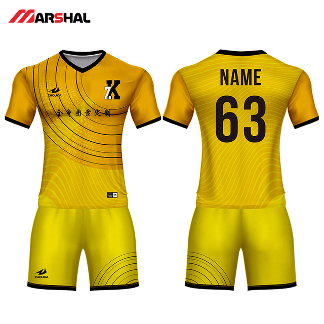 88508b3ec Create youth soccer uniforms football kits team practice custom jersey shirt  maker