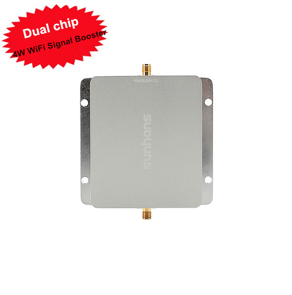 Sunhans SH24Gi4000 Wireless WiFi Signal Booster 4W 2 4Ghz 36dBm Repeater Amplifier Dual chip For Hotel