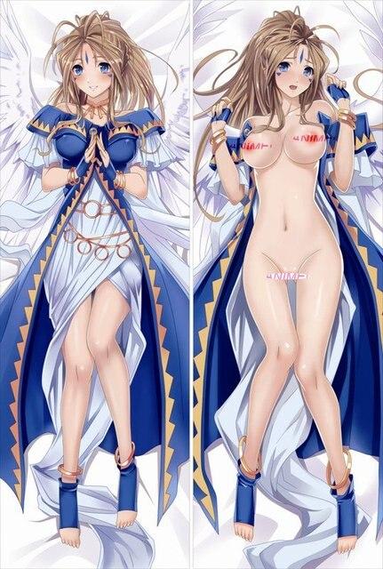 Free Shiping Anime Dakimakura hugging pillow case: Belldandy, Ah! My Goddess