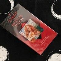 78pcs/set 100% Original English & Spanish Tarot of Sexual Magic board game adult tarot card deck Divination gaming cards