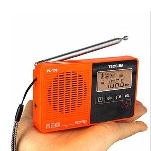 Image 5 - TECSUN PL 118 Ultra Light Mini Radio PLL DSP Banda FM Radio Internet Portatil Am Fm Radio FM:76.0 108MH /87.0 108MHz