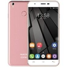 Оригинальный Oukitel U7 плюс Смартфон Android 6.0 5.5 дюймов 4 г MTK6737 Quad Core Мобильный телефон 2 г + 16 г отпечатков пальцев gps телефона