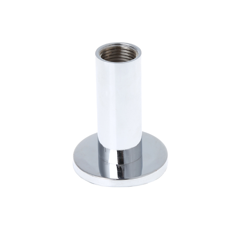 Chrome Shower Arm Flange Holder Brass Hose Connector Wall Suction Cup Wall Mount #0406 braun 7893s series 7
