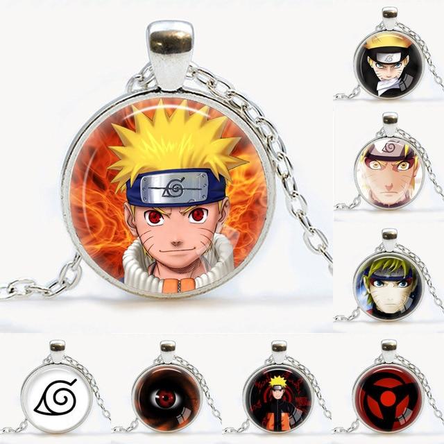 Naruto Jewelry Leaf Village Konoha Pendant Naruto Uzumaki Necklace