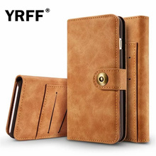 YRFF wallet flip Phone Case for samsung galaxy s7 Edge Back Cover leather phone cases for samsung galaxy s7 edge case