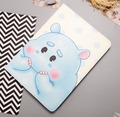 Cute flip case for Ipad pro 9.7inch animal prints smart cover for Ipad air3 Rabbit penguin hippo design protector for Ipad A1673