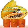 FEIQUE Papaya blanqueamiento crema para la cara contra la peca crema de día + crema de noche + crema perla
