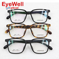 Fashion TR90 big frame Korea design optical frame super light eyeglasses for men and women 6680