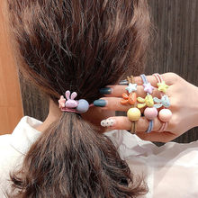Women Girls Kids Hair Band Ties Rope Ring Elastic Hairband Ponytail Holder(China)