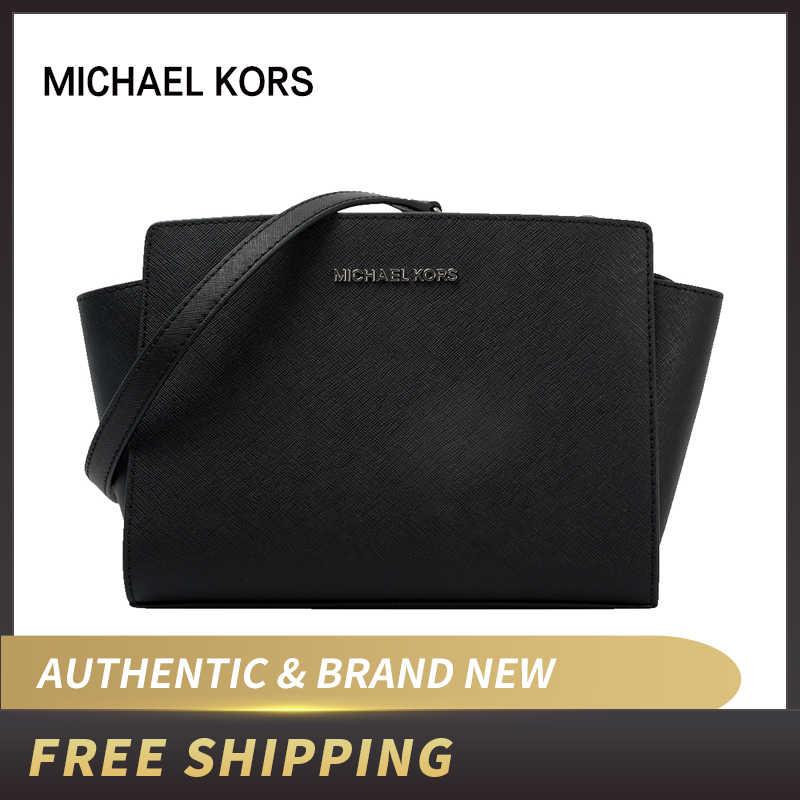 Michael Kors Selma Mini sac bandoulière en cuir 35H8GLMM6L ...