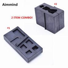 Zestaw narzędzi warsztatowych 2 Combo AR15/M4 Armorer Clamp. 223 /556 dolny górny blok imadła do budowy karabinu AR