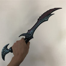 Movie Game Anime 1:1 WOW Anti Mage Scythe of Vyse Elf Weapon Figure Model Halloween Cosplay Prop PU Weapon Kids Role 50(China)