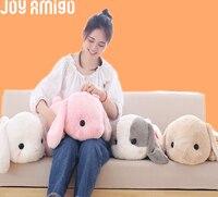 Super jumbo Sleepy tsumikko Amuse Pote США свисающий плюшевый кролик с большой головой пушистый кролик плюшевые игрушки лежал Подушки детские подарок
