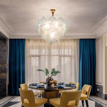 Moderne Loft Verre Suspension Lampe éclairage Cuisine Luminaires Pendentif Lumière Chambre Salon Décoration Intérieure Suspension Lampe Luminaire