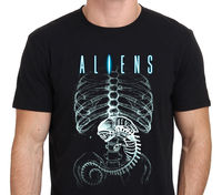 The Latest Style Xenomorph Alien Printing T Shirt Hipster Men Tops Customize Printed Short Sleeve Tees
