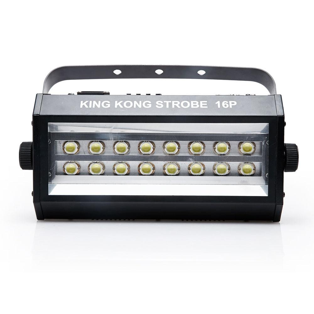Image 2 - Hot sell high power super bright DMX Voice control 16 LED Stroboscope 400W Strobe Lamp Party Disco DJ Bar Light strobe lights-in Stage Lighting Effect from Lights & Lighting