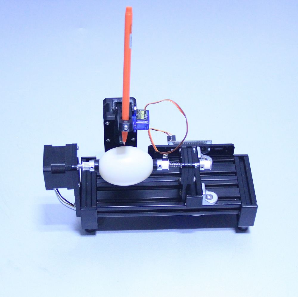 DIY drawbot drawing machine drawing robot kit eggbot drawing machine Sphereobot  for drawing on egg and ball optimal and efficient motion planning of redundant robot manipulators