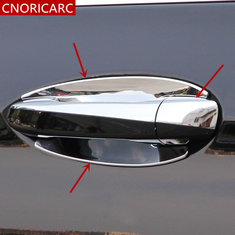 Chrome Inner Rearview Mirror Decorator Frame Trim For Mercedes-Benz A Class W176